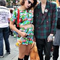 Street Style at Pride in London/Gay pride in London