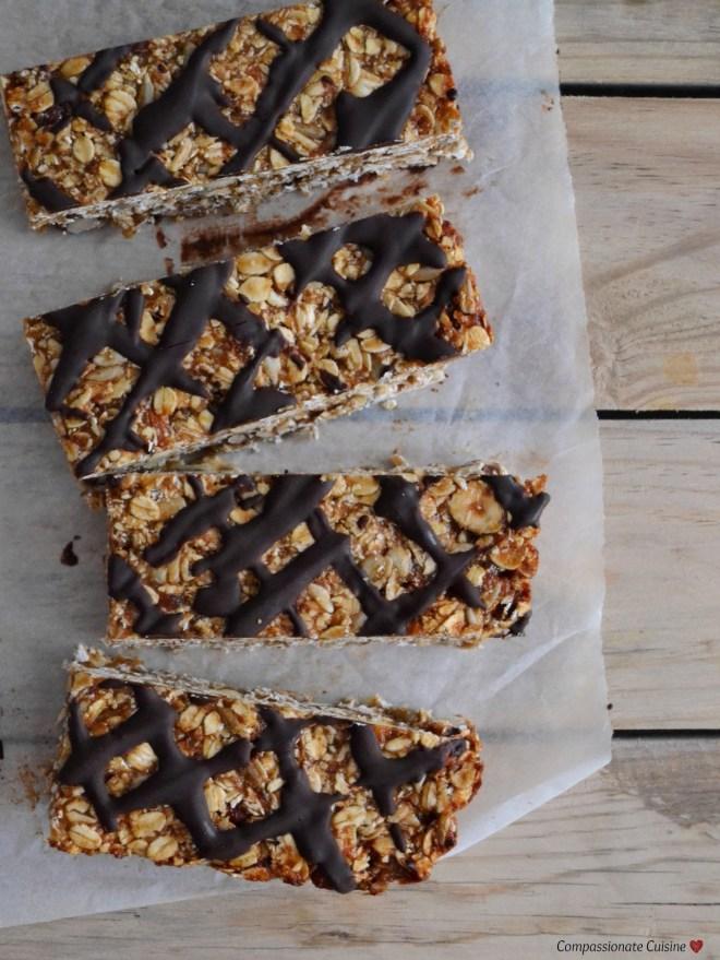 Peanut butter granola bars (3)