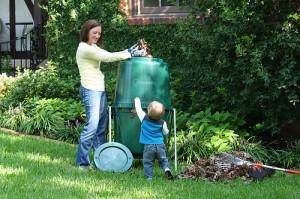 Tumbleweed compost bin