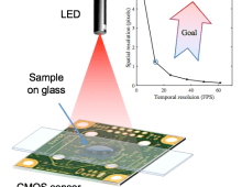 Lens-free On-chip Video