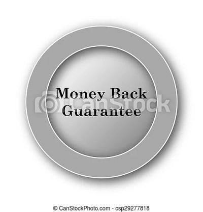 Stock Photography of Money back guarantee icon Internet button on white... csp29277818 - Search ...