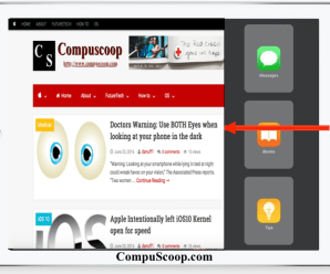 How to Disable the Multitasking Sidebar in iPad
