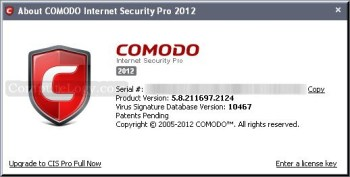 Comodo Internet Security Pro One Year License For Everyone
