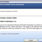 MSE install 2 150x150 Microsoft Security Essentials