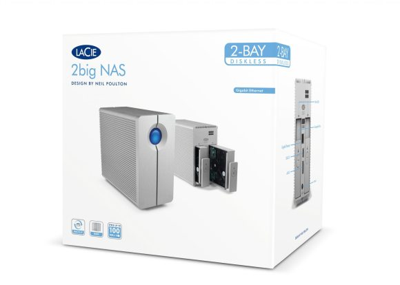 LaCie 2bigNAS 1 580x414 Review: LaCie 2big NAS