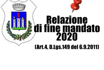 Relazione di fine mandato 2020