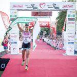 Ganadora del medio Triatlon, Elia Roda.