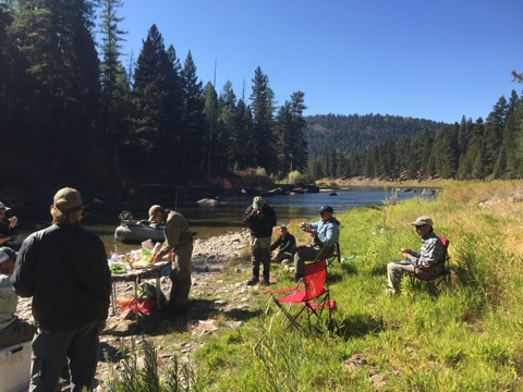 Lunch on the Blackfoot 2