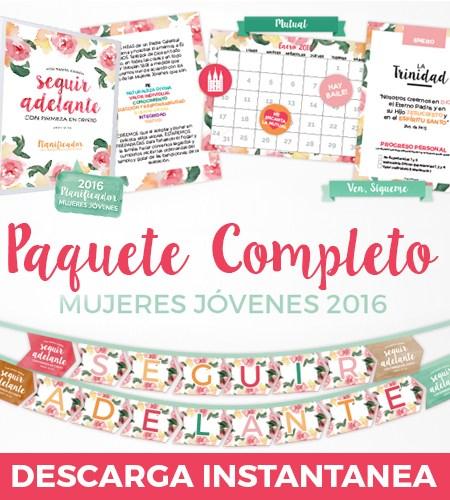 Paquete Completo Mujeres Jovenes 2016 - ConexionSUD