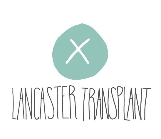 lancaster transplant logo circle with x