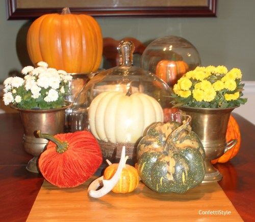 Fall 2014 Centerpiece by ConfettiStyle7