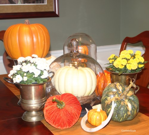 Fall 2014 Centerpiece by ConfettiStyle9