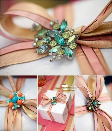 Gift Wrap with Jewelry