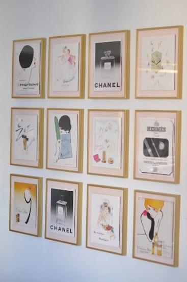 Framed Fashion Images