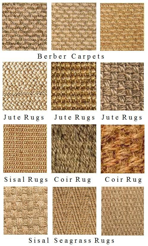 Natural Fiber Rugs ConfettiStyle