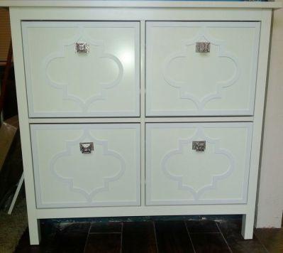 Overalys on Ikea Hemnes Shoe Cabinet