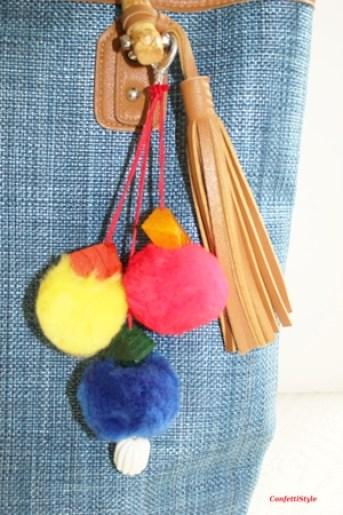 DIY Pom Pom Bag Charm6