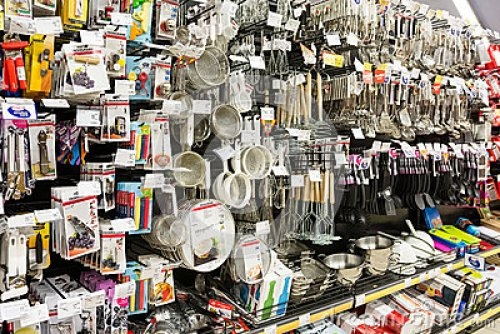 Utensils in Grocery Store