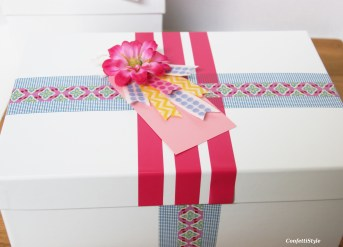 Washi Tape Gift Wrap by ConfettiStyle3