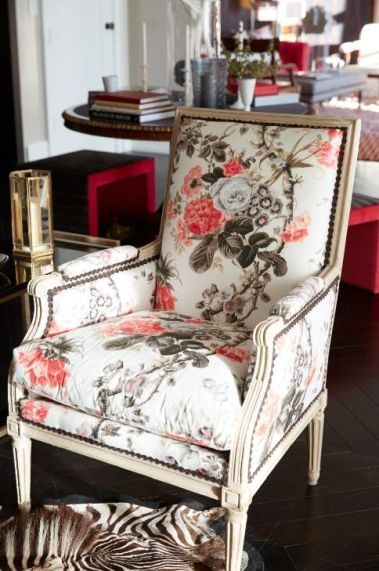 Alessandra Brance for Schumacher--Upholstered Chair