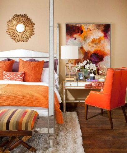 Fall Inspried Bedroom