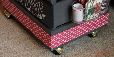 Merry & Bright Gift Wrap Crate 2