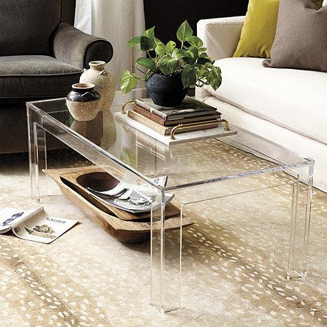 Felicity Acrylic Coffee Table