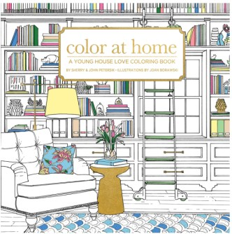 Color At Home--Cover Coloring Books