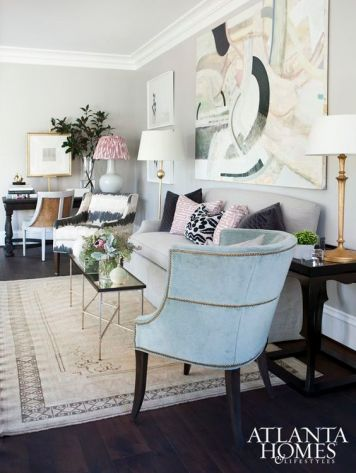 A Well-Styled Room-Atlanta Homes and Lifestyles