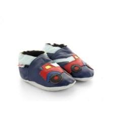 chaussons-bebe-en-cuir-souple-depanneuse-marine