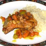 Morrocan Chicken Over Couscous