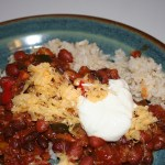 Veggie Chili with Soyrizo