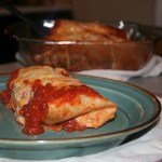 Meatless Monday: Vegetarian Wet Burritos