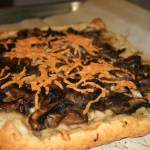 VeganMoFo: Mushroom and White Bean Tart