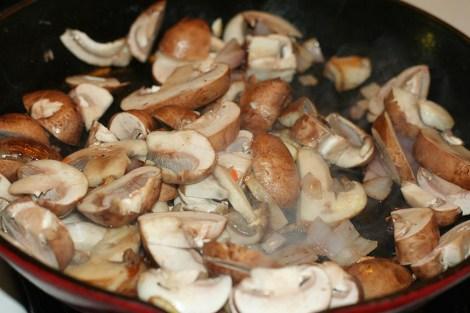 mushrooms for vegan liver