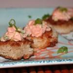 Crispy Rice Cakes with Spicy Salmon
