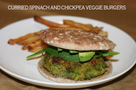 spinach-and-chickpea-burgers