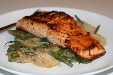Pan-Seared-Miso-Glazed-Salmon-