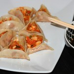 Kimchi Hamentashen Dumplings