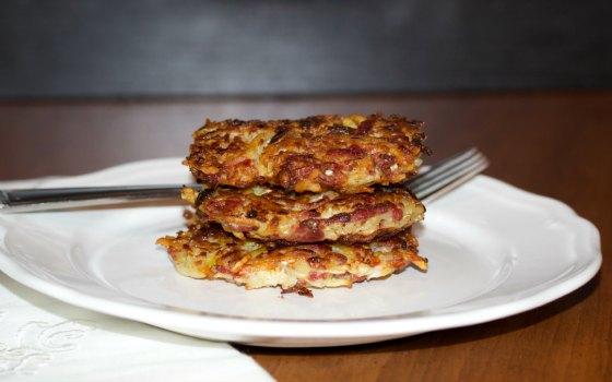 Corned Beef & Cabbage Latkes
