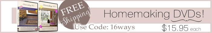 homemaking dvd banner