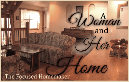 womanandher home