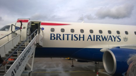 On my way to London
