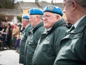 Members of the Irish United Nations Veterans Association
