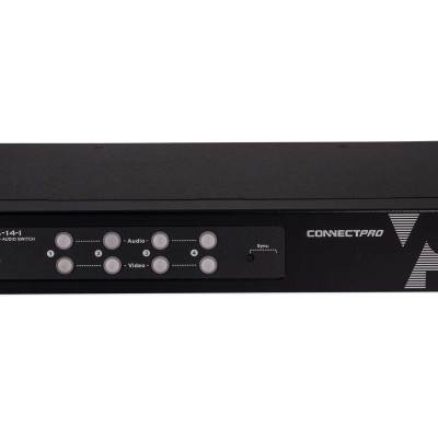 AVS-14-I a four port vga audio switch