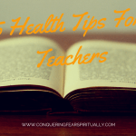 5 Health Tips for Teachers