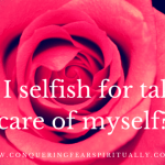 {Book Preview} Am I selfish for taking care of myself?