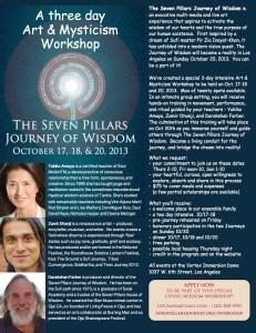 Seven Pillars - Journey of Wisdom 2013 - workshop