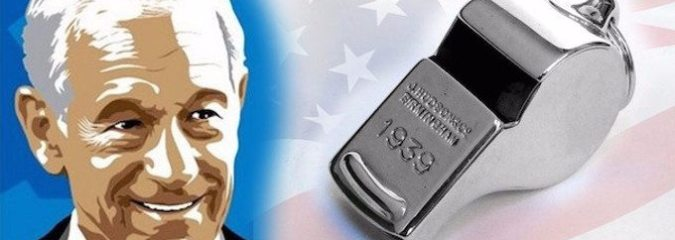 Ron Paul – Whistleblowers are the True Heroes and Patriots in America