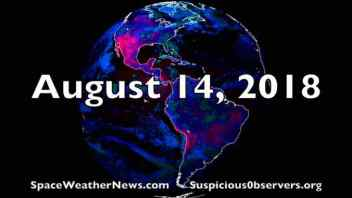 New Sunspot, Earthquakes, Asteroid Close Call, Argument Against Matrix World | S0 News Aug.14.2018